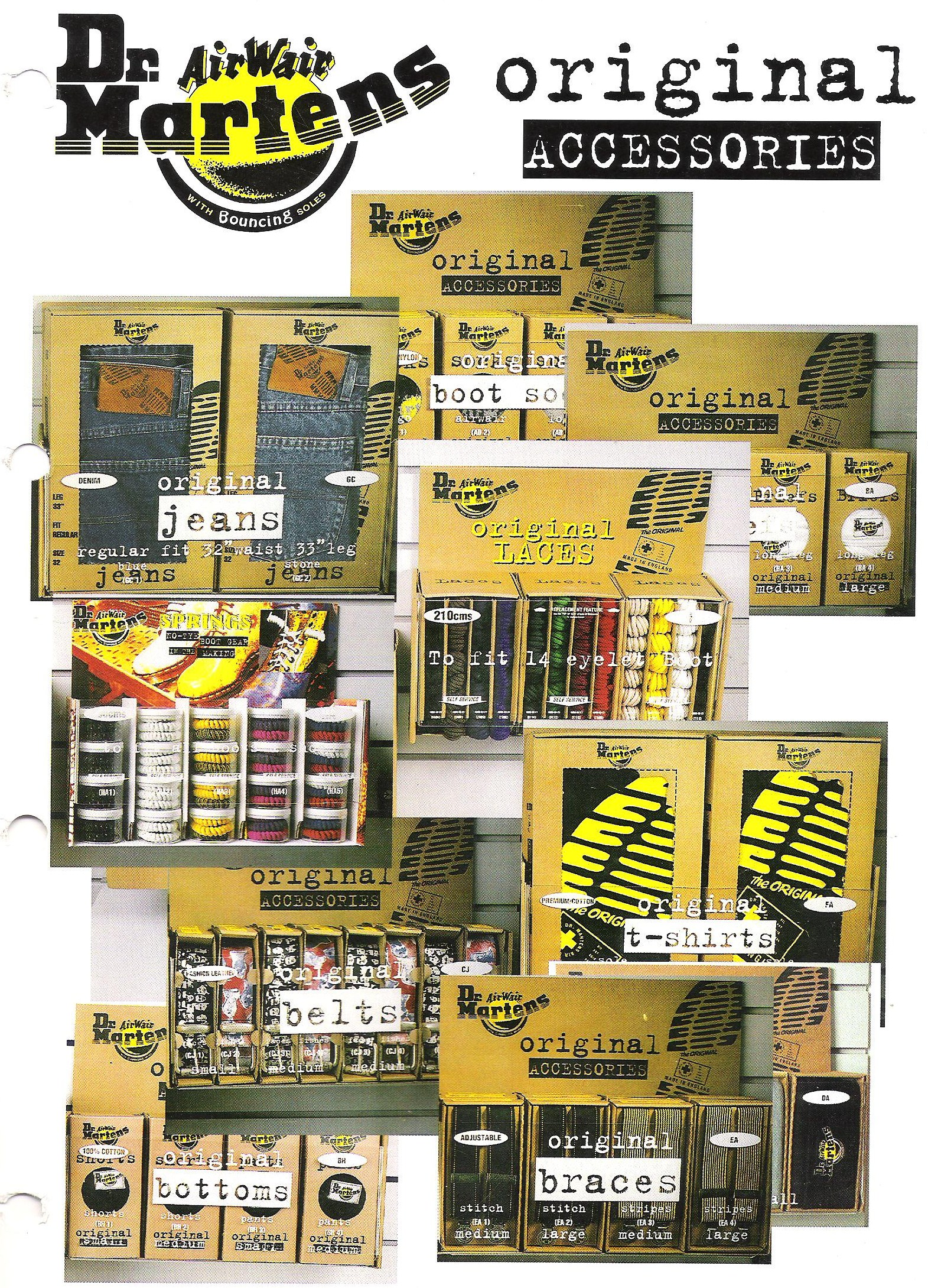 AirWear Dr Martens Accessories Display Unit with in-built POS storage,  as created and designed by VoxLabs in Ireland