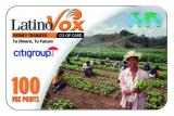 LatinoVox Fruitpicker Vouchercard Design